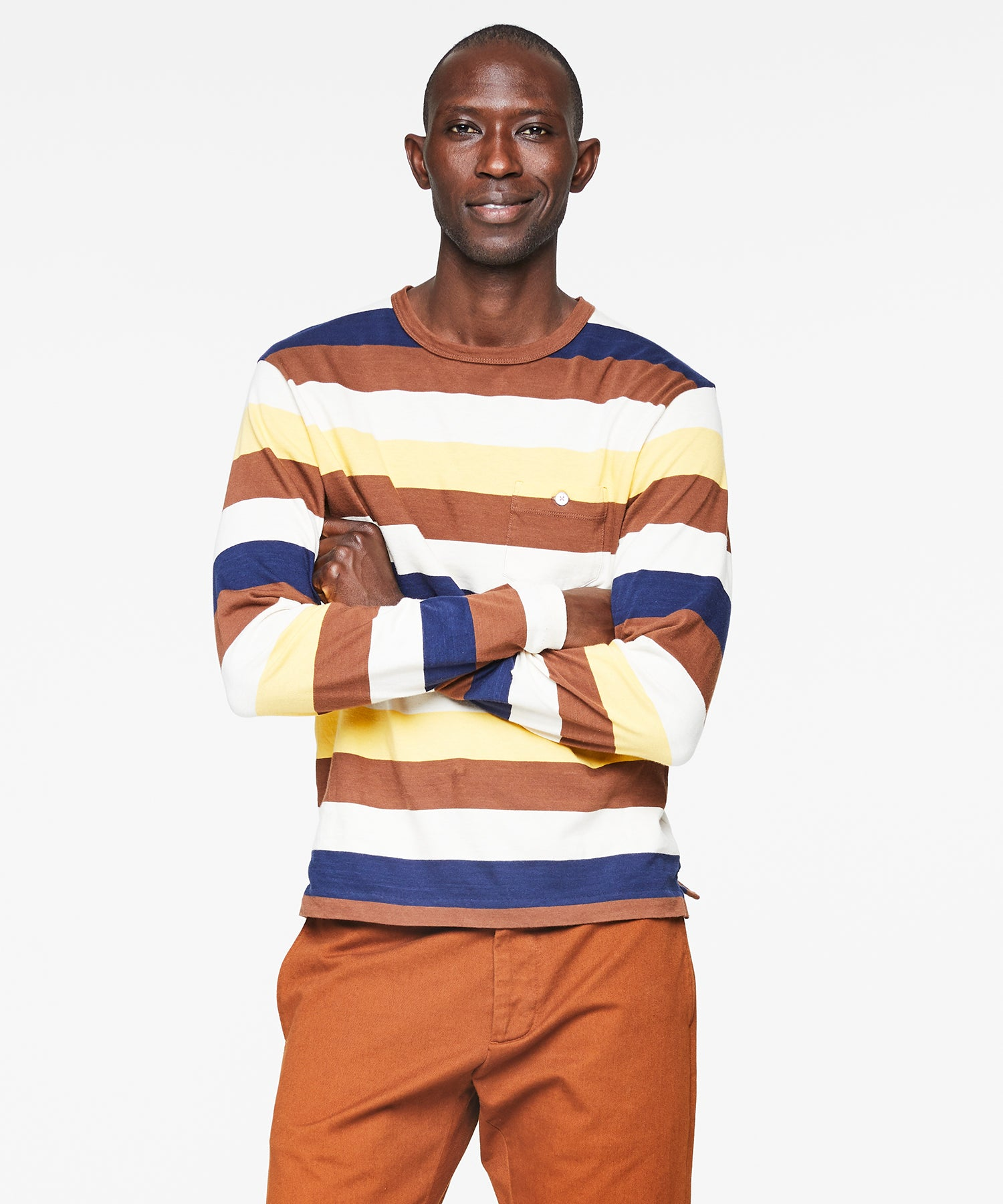 Bold Long Sleeve Striped T-Shirt