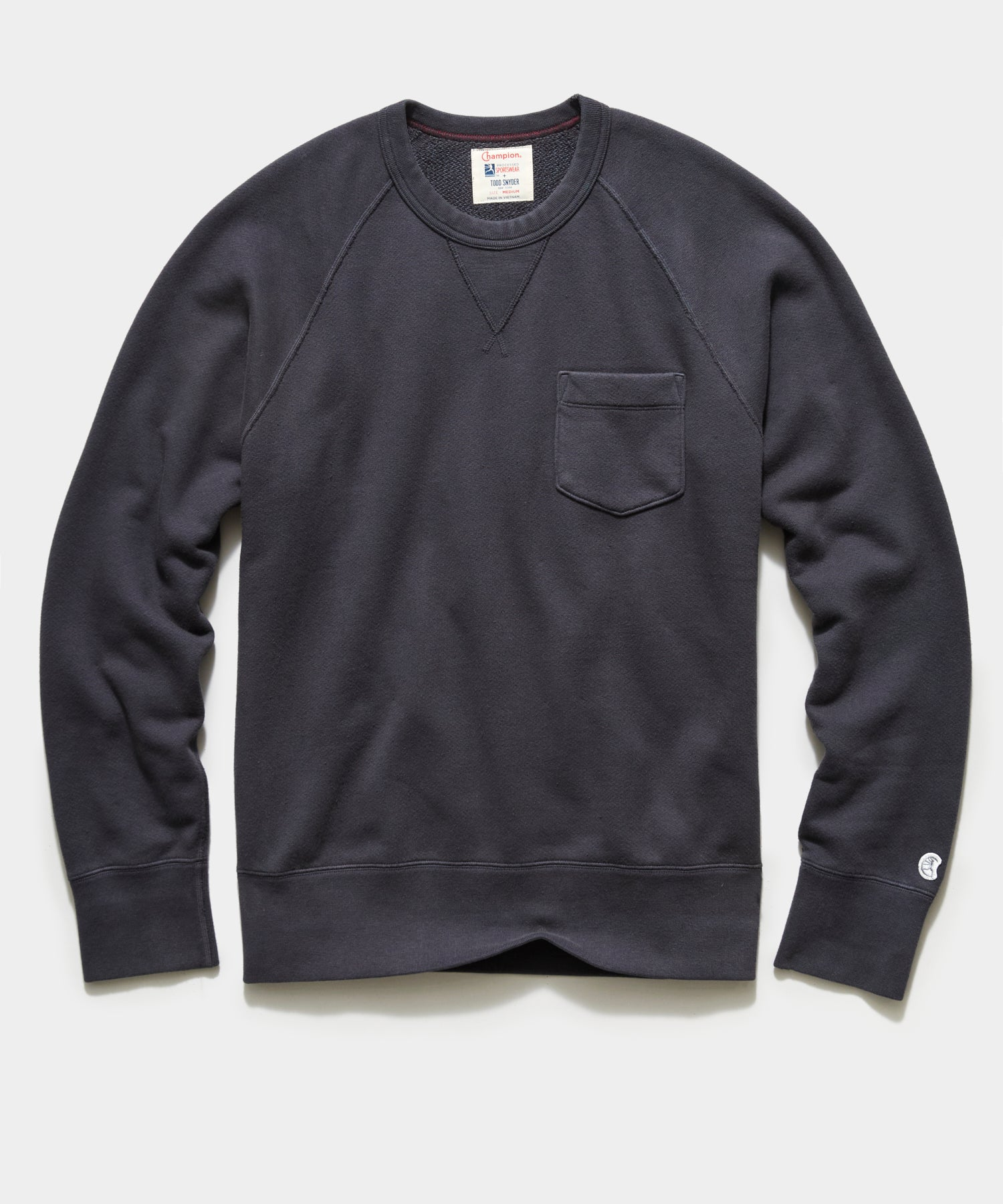 Midweight Pocket Sweatshirt in Asphalt