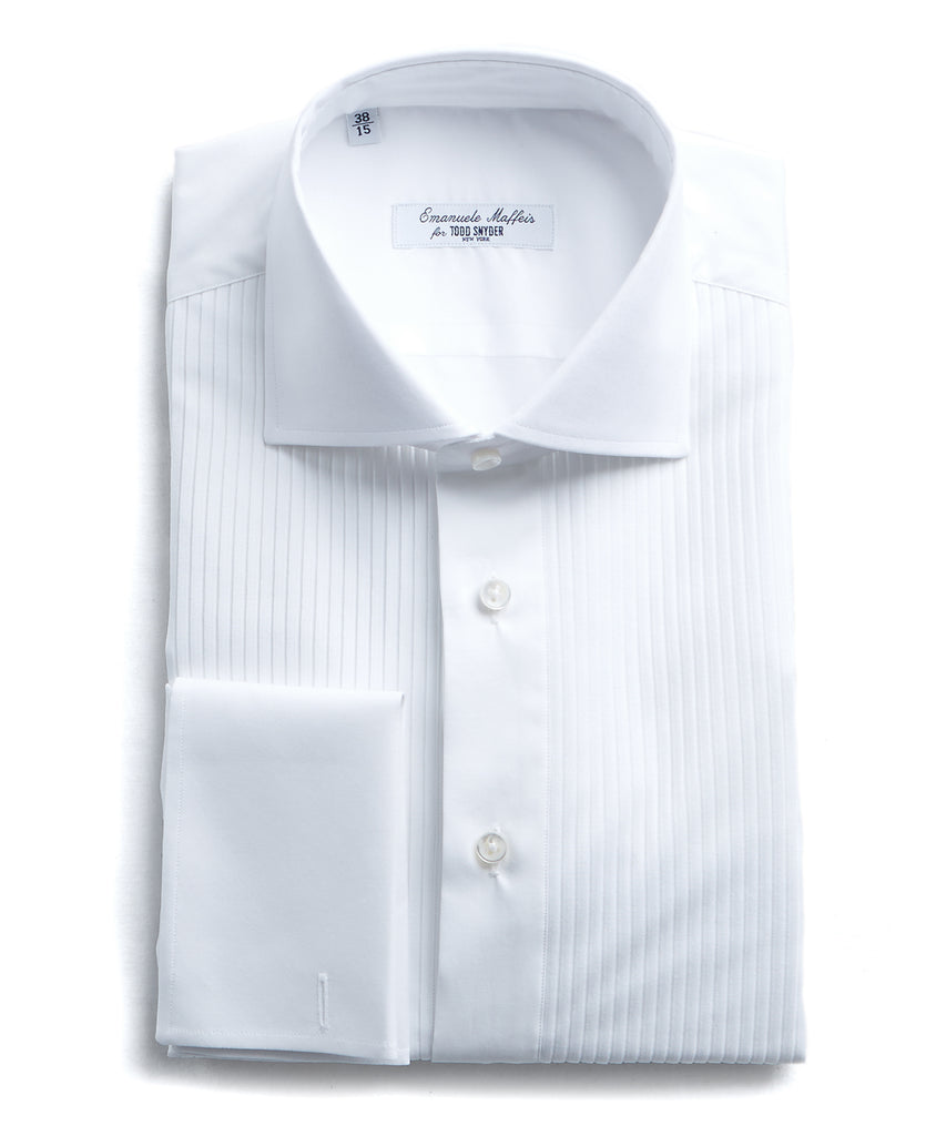 Maffeis Pleated Formal Tuxedo Shirt