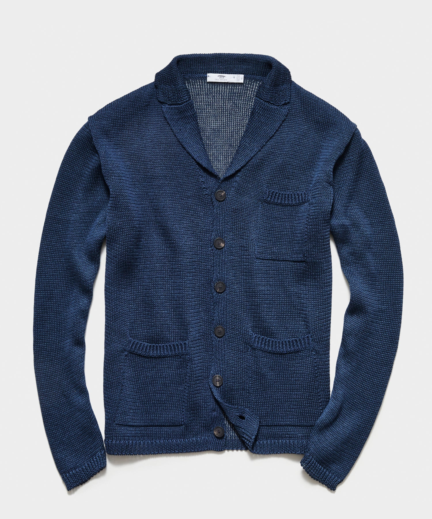 Inis Meáin Pub Jacket in Blueberry