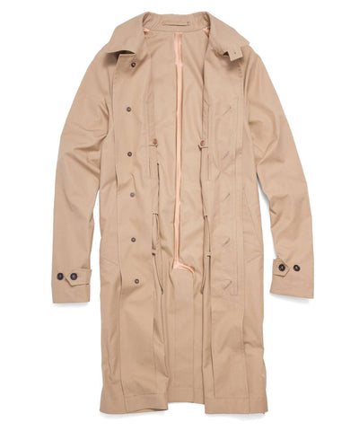 Todd Snyder + Private White V.C Khaki Trench Coat