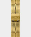 Q Timex Reissue 38mm Stainless Steel Gold Tone Bracelet Watch