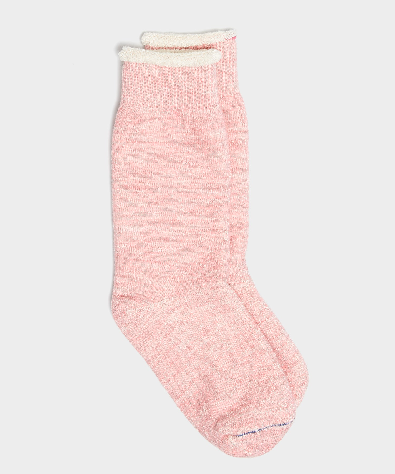 RoToTo Double Face Socks in Light Pink