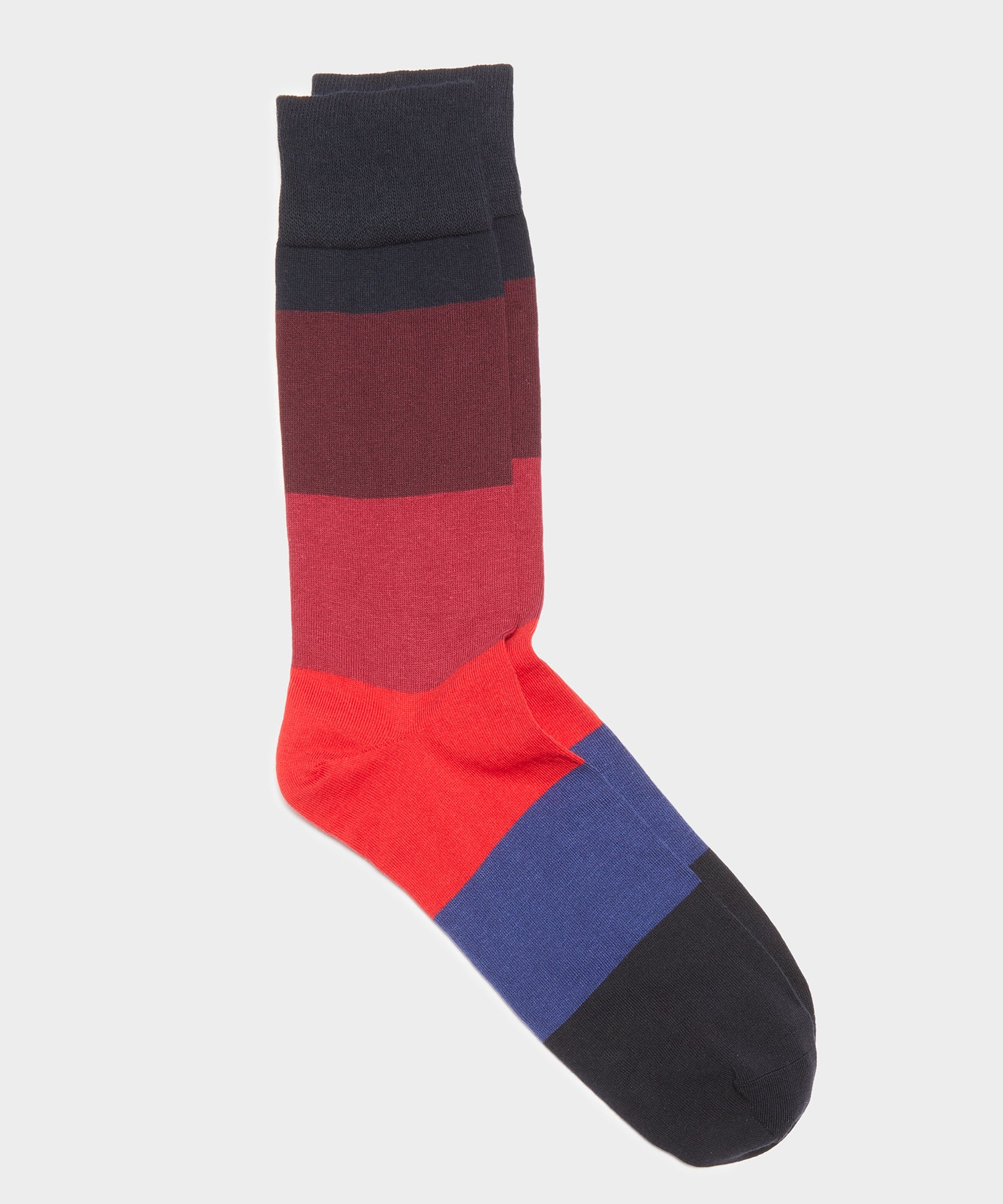 Corgi Color Block Cotton Blend Sock