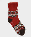 RoToTo Comfy Nordic Room Socks in Red