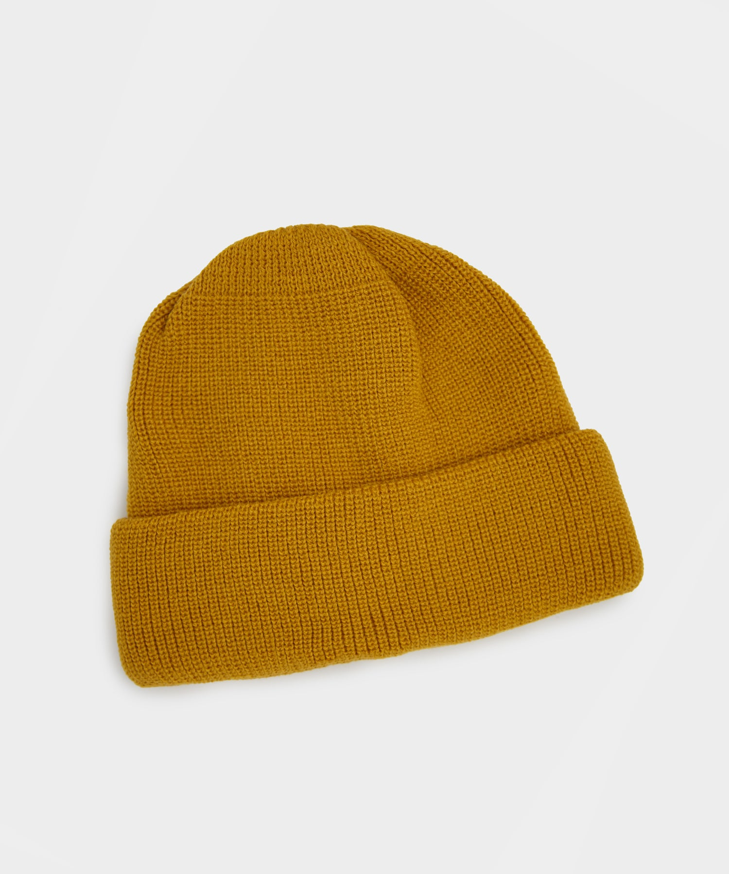 RoToTo Bulky Watch Cap in Yellow