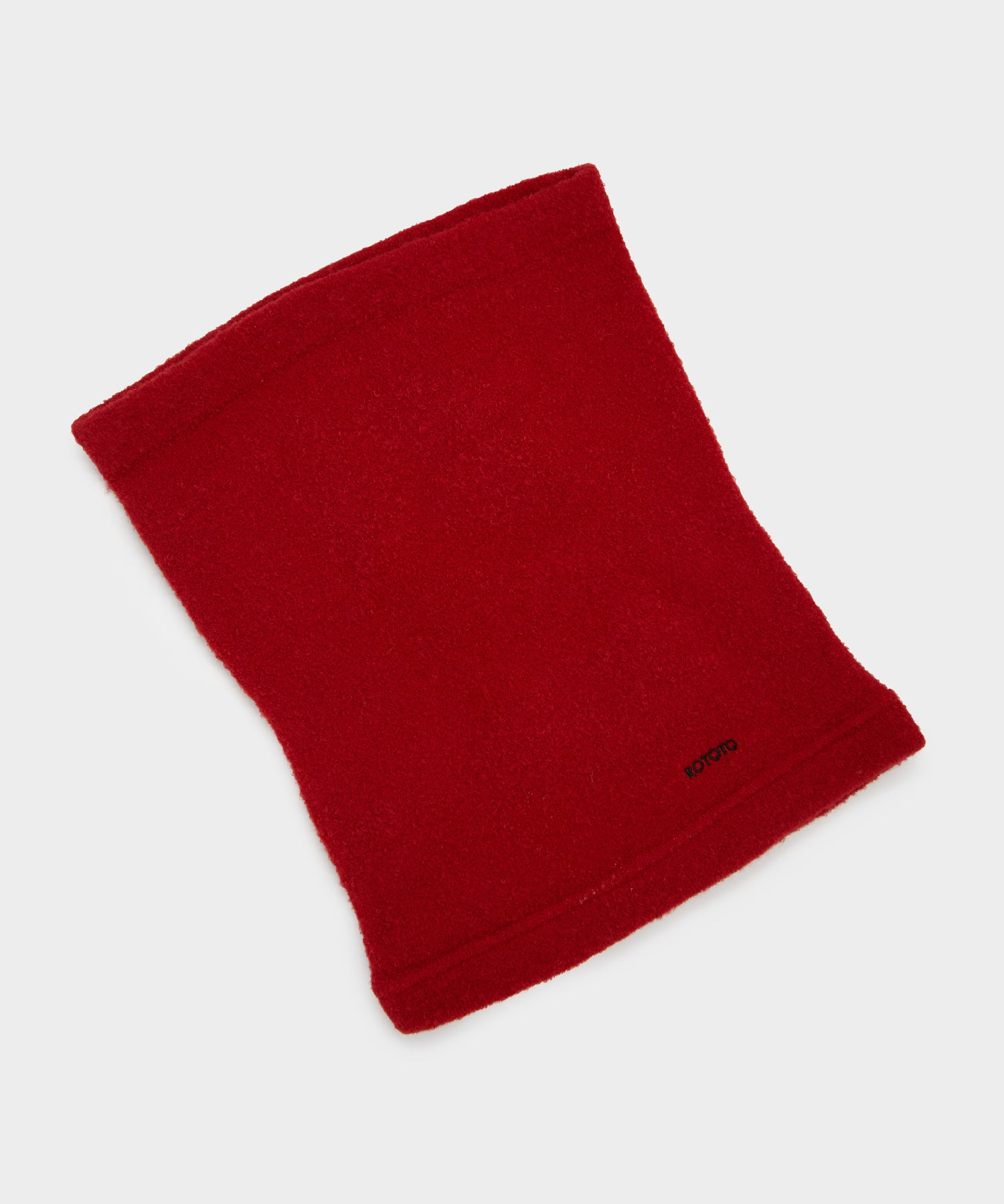 RoToTo MOF Neck Warmer in Red