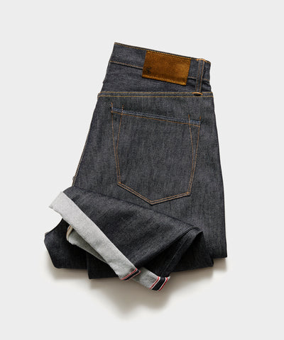 Relaxed Fit Made in USA Raw Selvedge Jean
