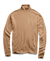John Smedley Easy Fit Turtleneck in Camel