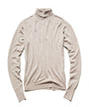 John Smedley Easy Fit Merino Roll Neck in Oatmeal