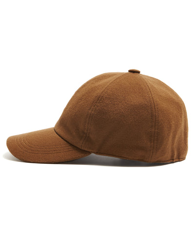 Lock & Co. Rimini Wool/Alpaca Dad Hat in Camel