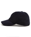 Lock and Co Corduroy Rimini Dad Hat in Navy