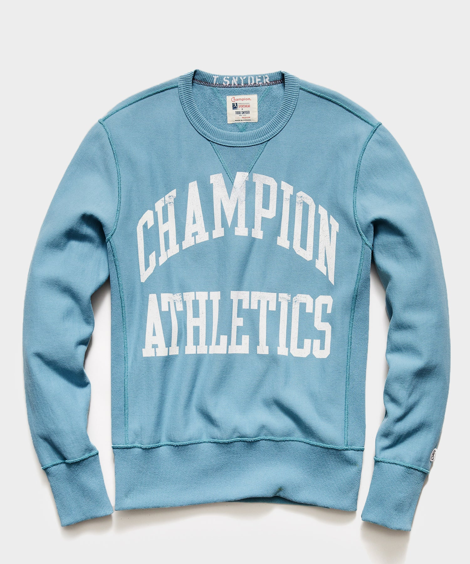Champion Athletics Sweatshirt in Bluestone