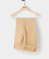 SUTTON ITALIAN LINEN DRESS PANT IN Toasted Almond