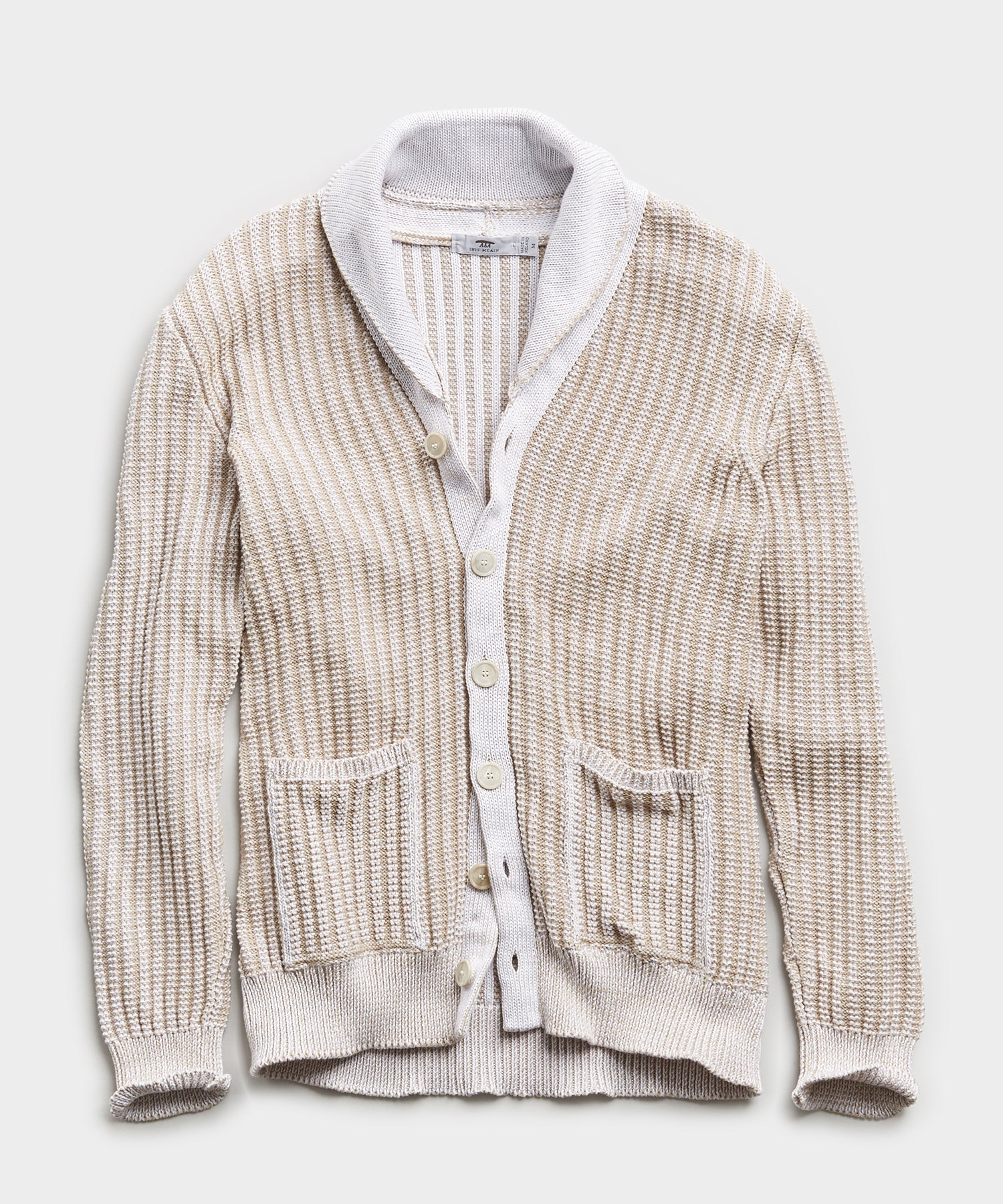 Inis Meain Beach Cardigan in Ivory