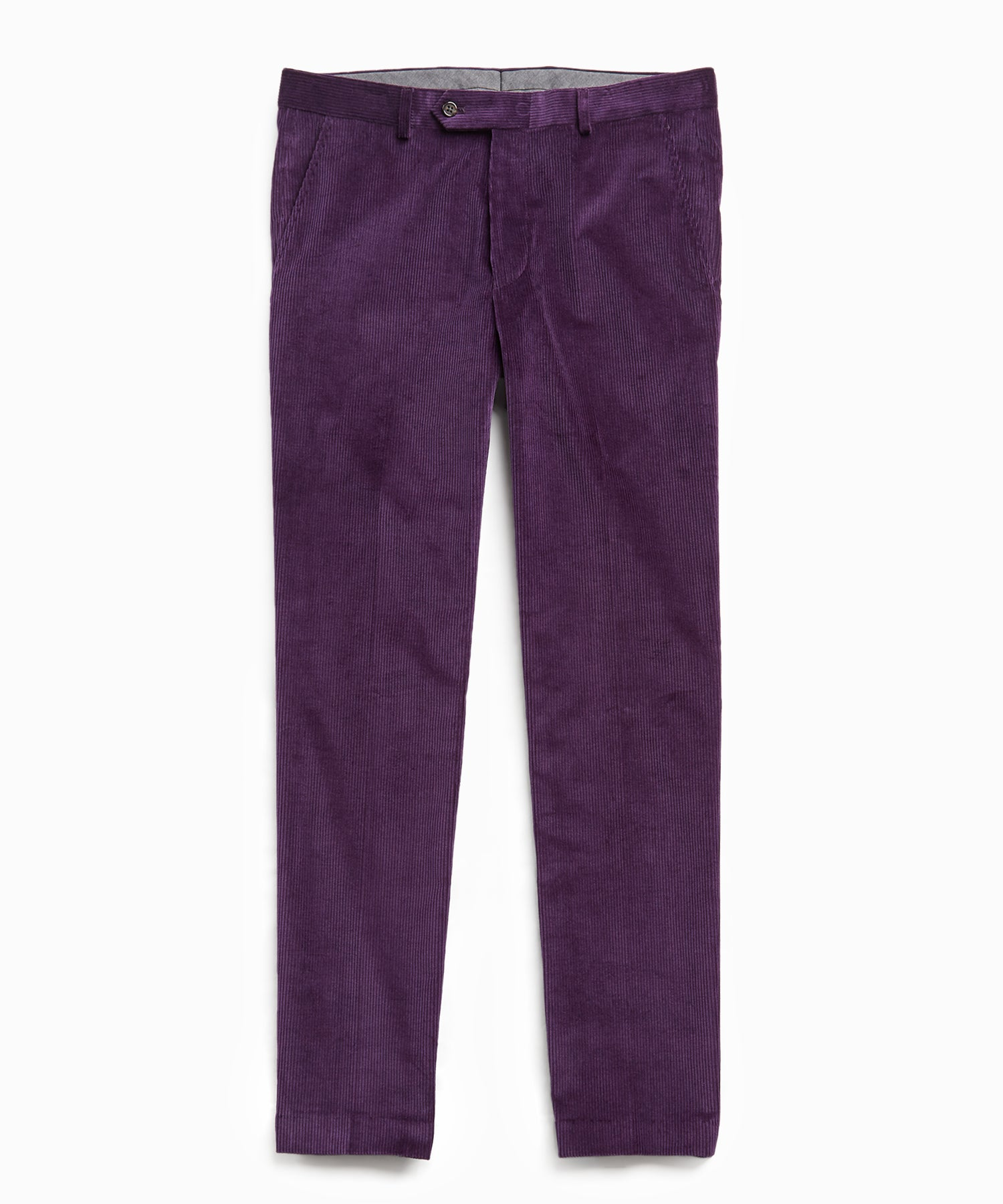 Sutton Corduroy Trouser in Purple