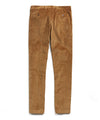 Italian Stretch Cord Sutton Suit Trouser in Camel