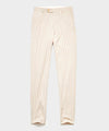 Italian Tattersal Sutton Dress Trouser in Ivory