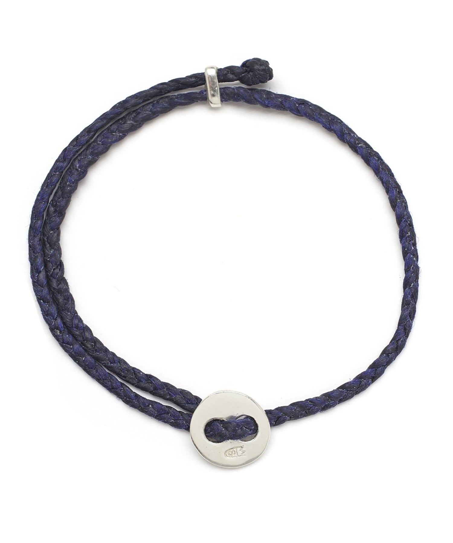 Scosha Signature 4MM Bracelet in Indigo