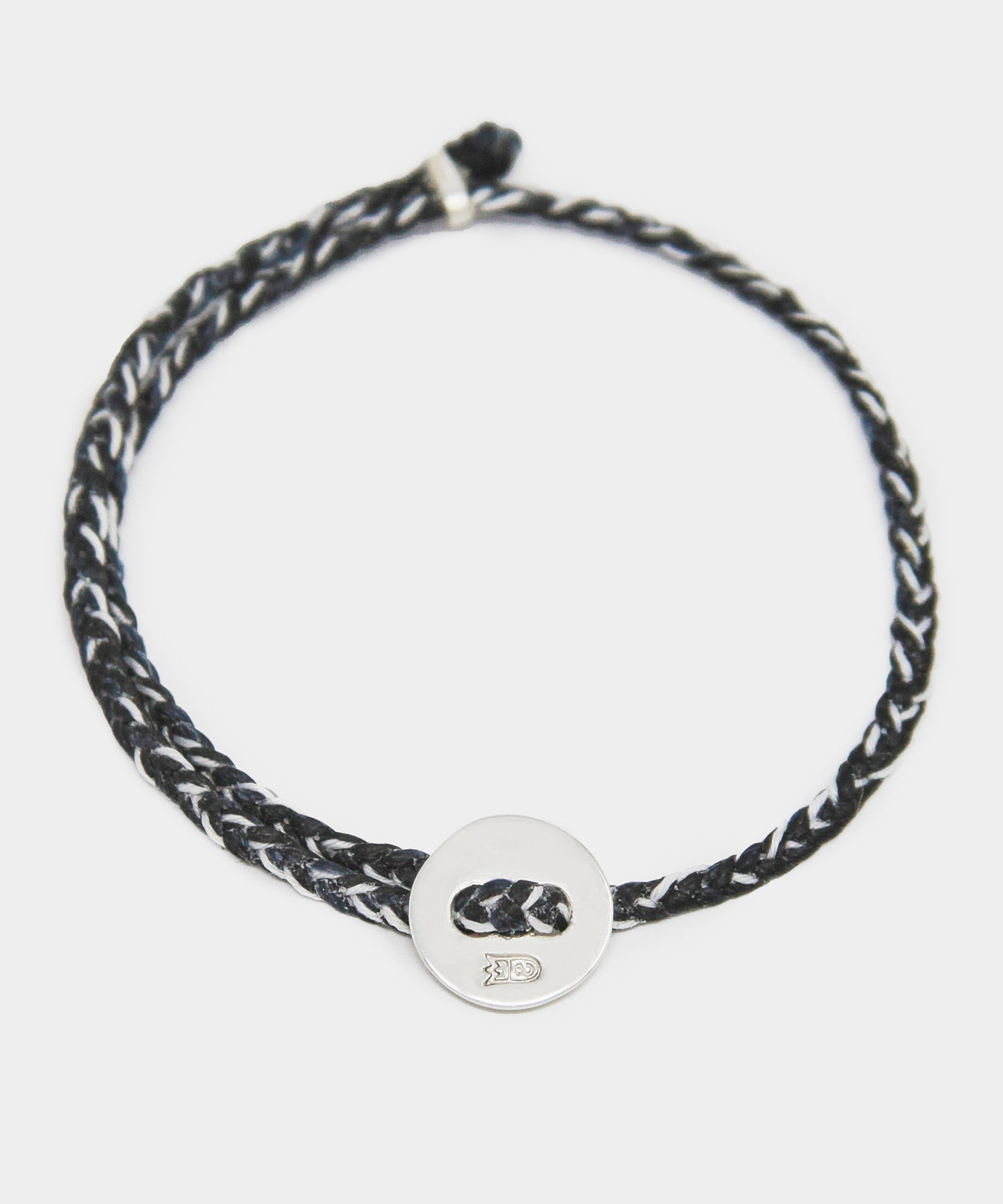 Scosha Signature 4MM Bracelet in Black and Silver