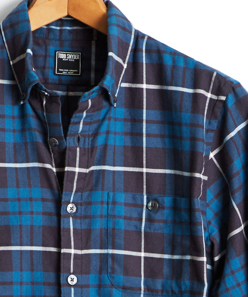 Todd Snyder Button Down Flannel Shirt