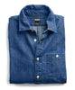 Indigo Denim Button Down Shirt Alternate Image