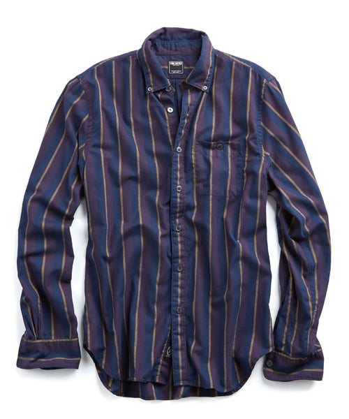 Stripped Button Down Flannel