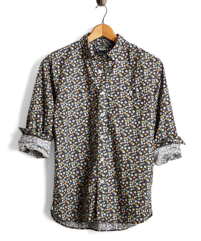 Button Down Liberty Floral Shirt