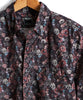 Thomas Mason Floral Shirt in Burgundy Alternate Image