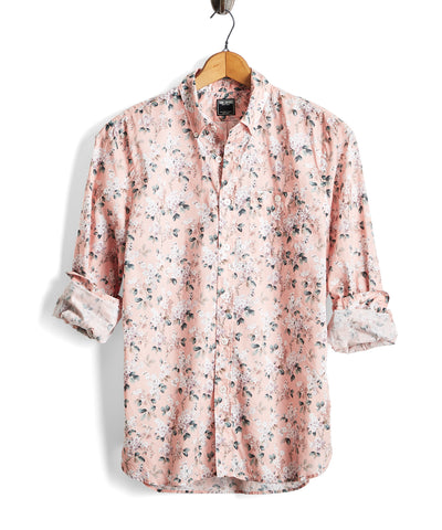 Liberty Floral Shirt in Pink