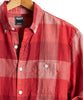 Lightweight Buffalo Check Button Down Shirt in Red Alternate Image