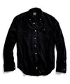 Micro Corduroy Button-down Shirt in Black