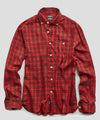 Holiday Tartan Shirt in Red