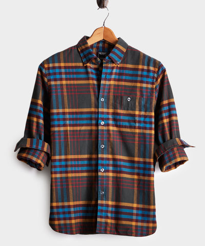 Campfire Plaid Flannel Shirt
