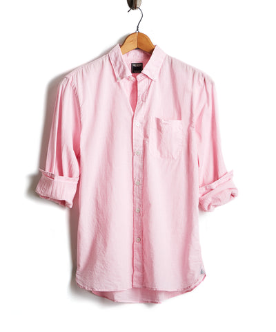 Lightweight Button Down Shirt Light Pink