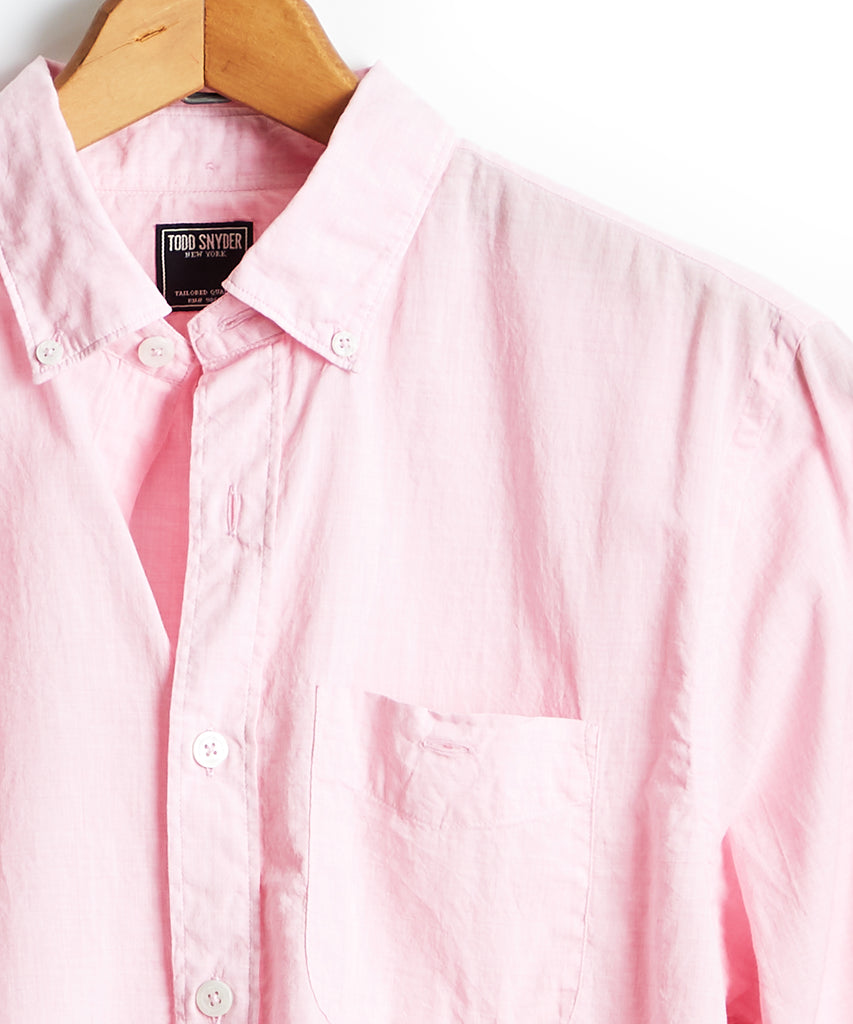 7bb83736c6e29 Lightweight Button Down Shirt Light Pink