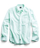 Solid Oxford Shirt in Mint Alternate Image