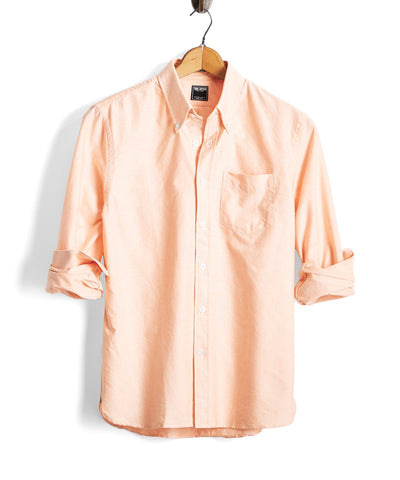 Solid Oxford Shirt in Melon