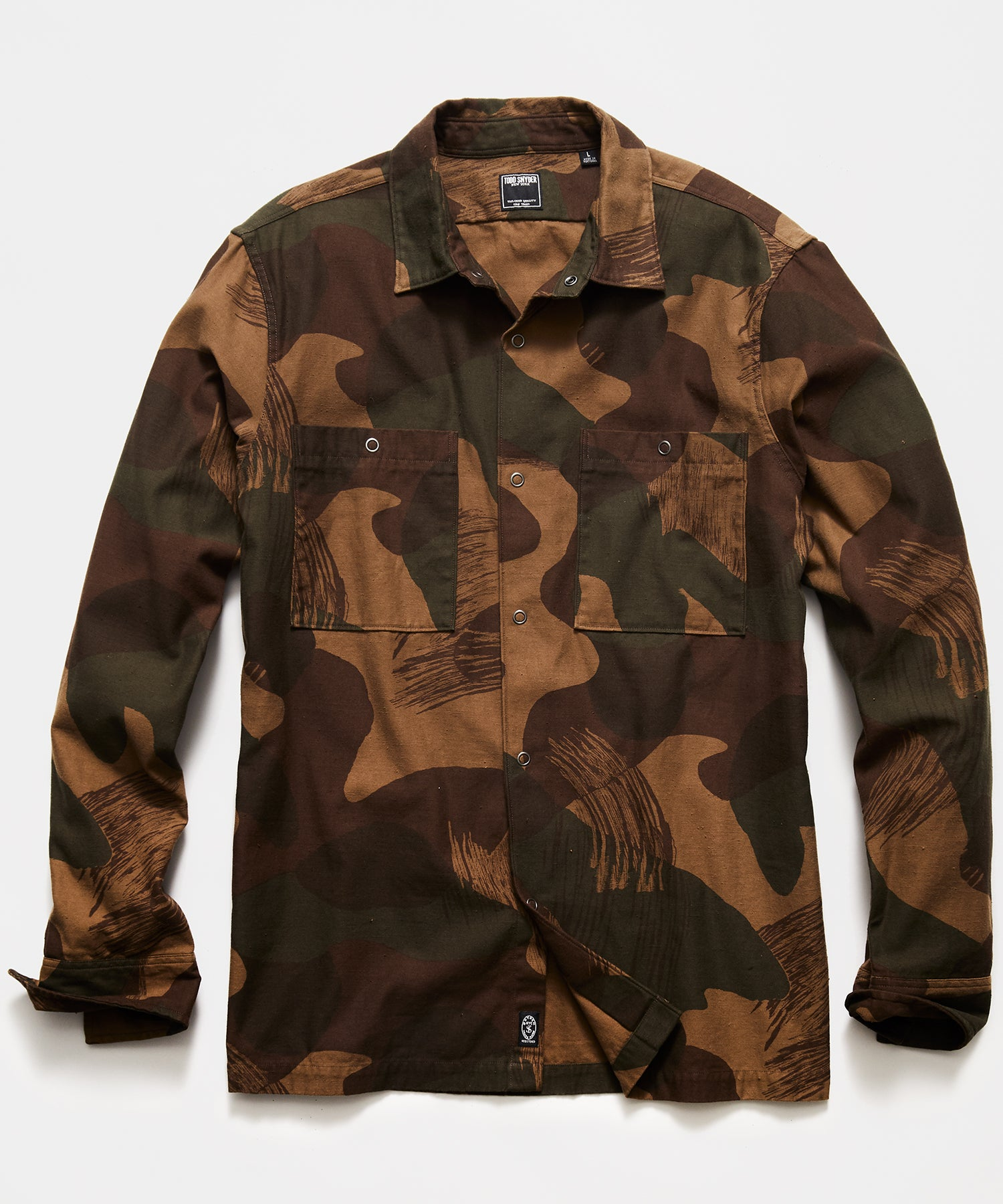 Japanese Camo Snap Jacket