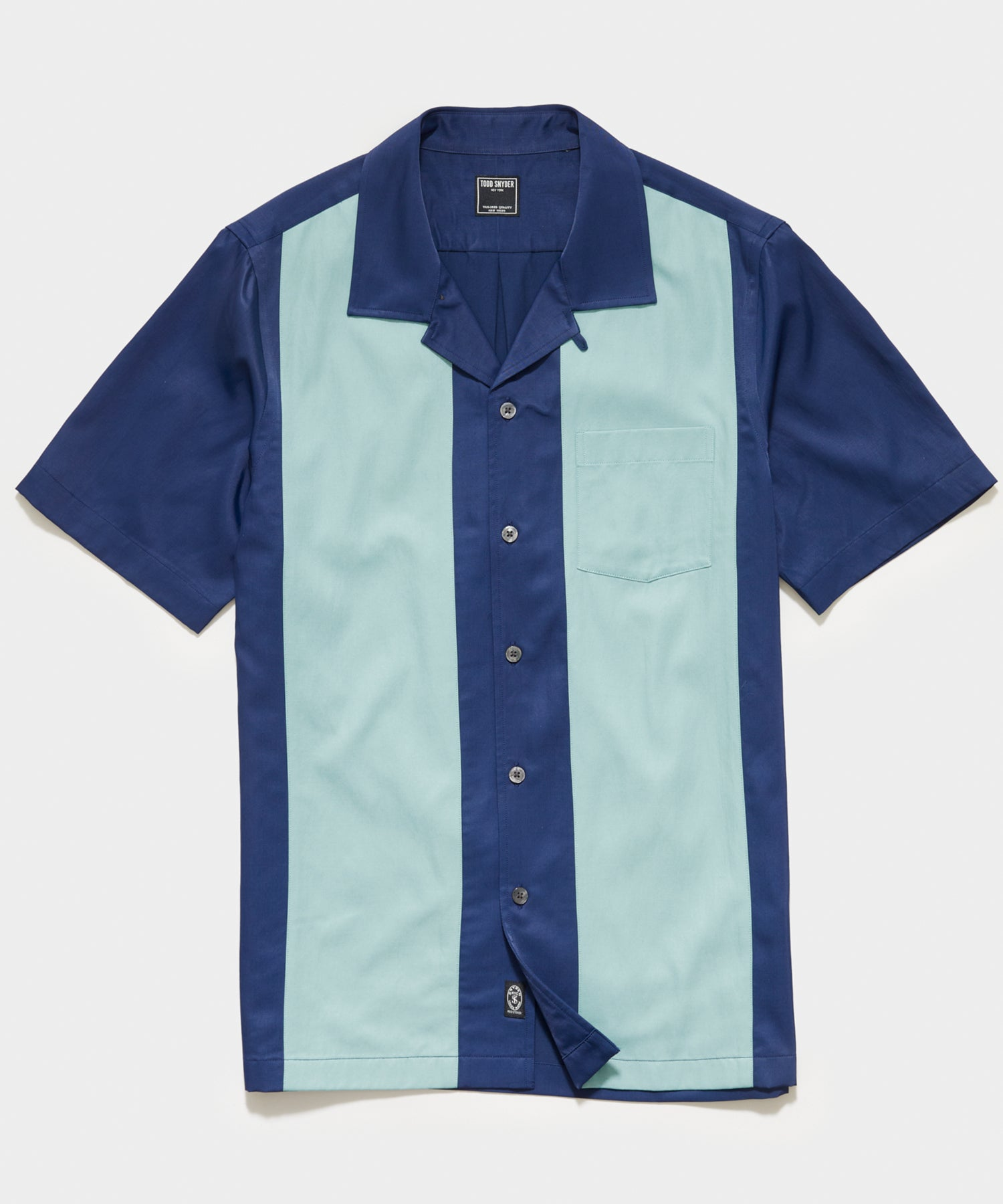 Japanese Lane Shirt in Navy