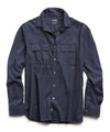 Lightweight Italian Military Shirt in Navy
