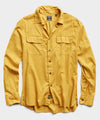 Lightweight Italian Military Shirt in Brass