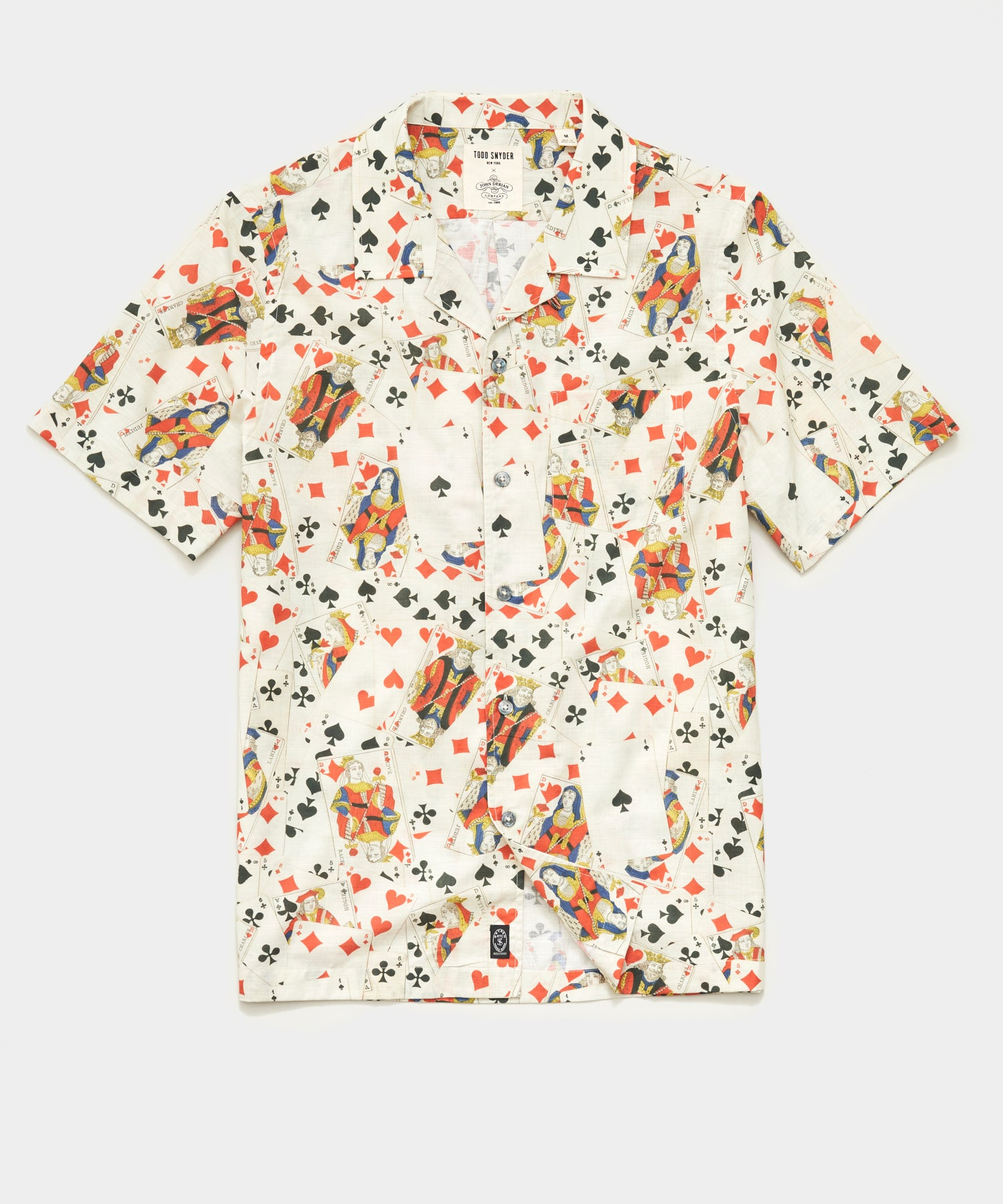 Todd Snyder x John Derian Deck Of Cards Shirt