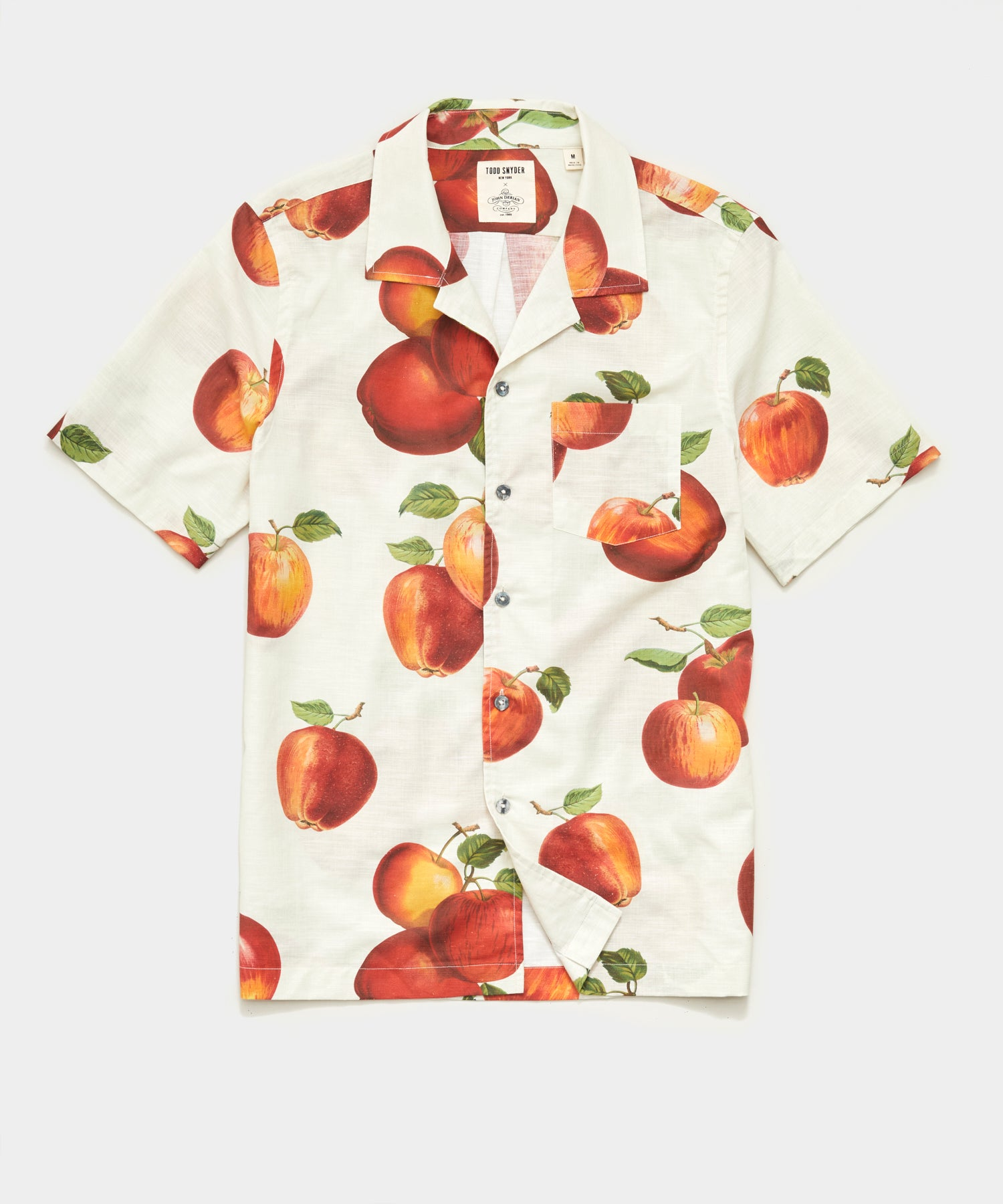 Todd Snyder x John Derian Apple Print Shirt