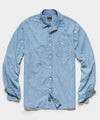 Japanese Sunfaded Chambray Button Down Shirt