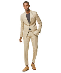 Linen Sutton Suit Jacket in Beige Alternate Image
