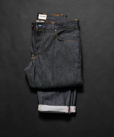 Slim Fit Made In USA Raw Selvedge Jean