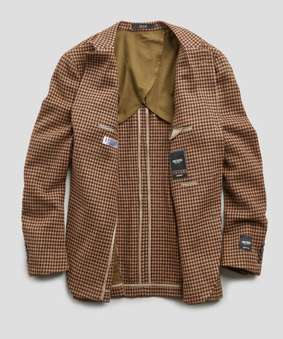 Sutton Houndstooth Sport Coat in Brown