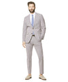 Todd Snyder Black Label Red and Navy Cotton Check Sutton Suit