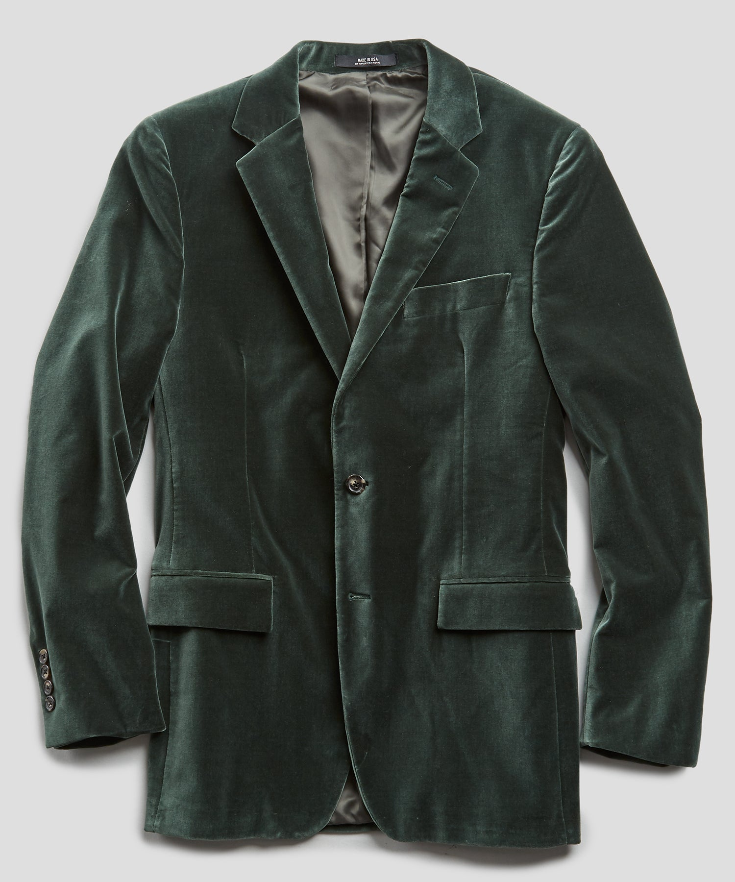 Sutton Velvet Sport Coat in Dark Green